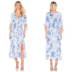 New Free People Forever Always Midi Dress